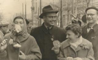 На демонстрації. 1960 р.