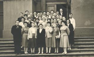 Випуск заочників мехмату КДУ 1960 р.